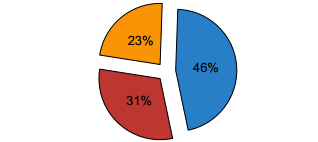 insert exploded pie chart to pdf in c# .net
